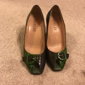 """1 1/2"""" dress heel"""